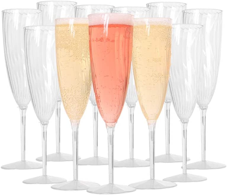 Plastic Champagne 2021new shipping free Flutes - Wine for Glasses Weddings and Manufacturer direct delivery