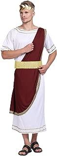 Ancient Greek Men Roman Toga Caesar Party Fancy Dress Costume