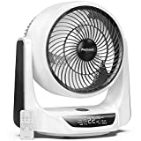"Pro Breeze 10"" DC Air Circulator Fan - Ultra Quiet - Automatic Oscillation, 9 Fan Speeds, 4 Operational Modes, Timer, LED Display & Remote Control. Perfect for Desks, Bedrooms & Offices"