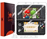 Skinomi Full Body Skin Protector Compatible with Nintendo 3DS (2015 Standard Version)(Screen Protector + Back Cover) TechSkin Full Coverage Clear HD Film