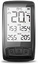Bike Computer Speedometer Set, Wireless Bicycle Multifunctional 2.5 Inch LCD Backlight Screen Waterproof Cycling Odometer