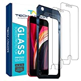 Tech Armor Premium Ballistic Tempered Glass Screen Protector for Apple iPhone SE 2020