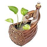 H·Aimee Quemador de Incienso,diseño de Flor de Loto,de Estilo Zen,de reflujo,de cerámica, hogar,1 Unidad