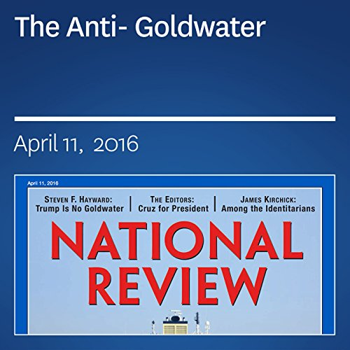 The Anti-Goldwater audiobook cover art