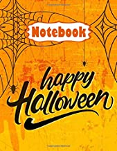 Halloween Notebook for Kids, Teens & Adults: Halloween Notebook Journal Funny Scary| With Glossy Cover| Paper, Wide-Ruled ...