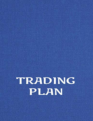 Trading Plan: Monthly Trading goals Record Journal and trade history | 8,5x11 | stock trading notebook log book