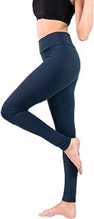 Baihetu Buttery Soft Leggings for Women-Regular and Plus Size Leggings with Inner Pockets -Yoga Pants