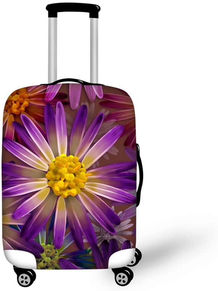 Floral Popular shop is the lowest price challenge Pattern Luggage Covers High material Apply to 30-32 Travel Suitcas Inch