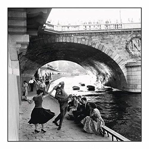 Close Up Rock'n Roll Sur Les Quais De Paris - Seine Ufer (30cm x 30cm)