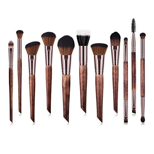 Drawihi Kit De Pinceau Maquillage Professionnel,Set Di 11 Pieces,Convient Aux Étudiants/Professionnels