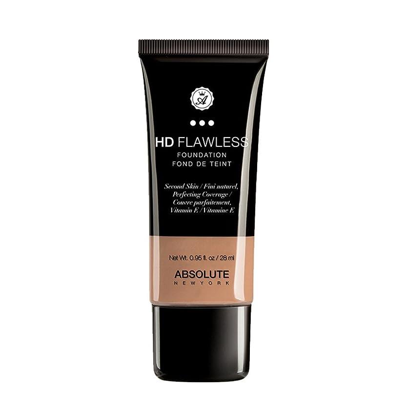 苦悩指定アパート(3 Pack) ABSOLUTE HD Flawless Fluid Foundation - Honey (並行輸入品)