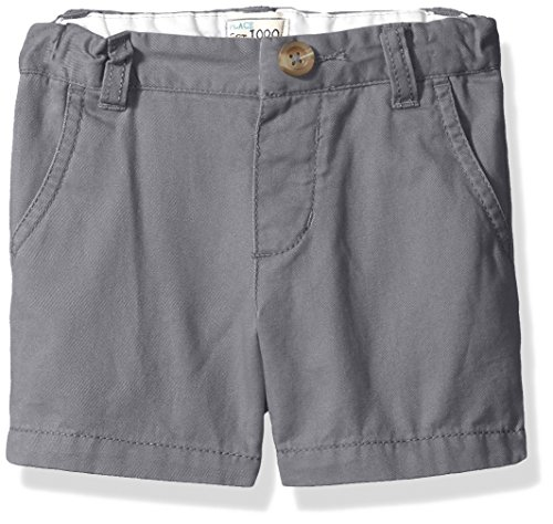 The Children's Place Baby Boys' Toddler Chino Shorts, Storm 45119, 5T