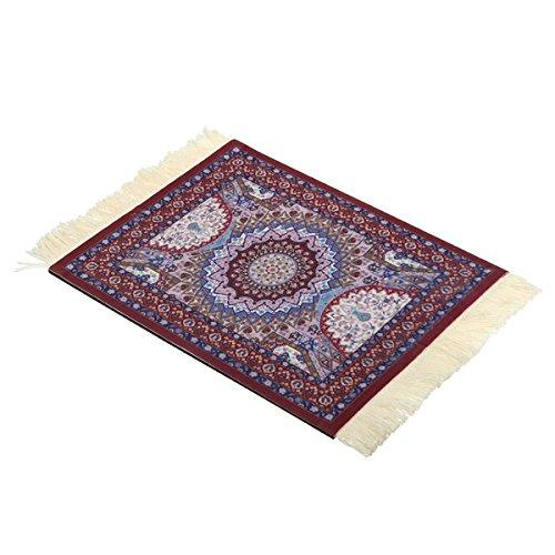 CoCocina 28cmx18cm Paars Kroon Bohemen Stijl Perzische tapijt muismat Voor Desktop PC Laptop Computer