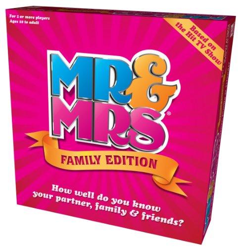 MR&Mrs Family Edition Jeu - version anglaise
