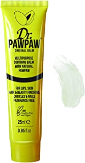 Dr. PAWPAW Multi-Purpose Balm | No Fragrance Balm, For Lips, Skin, Hair, Cuticles, Nails, and Beauty Finishing | 25 ml (Original, 1 Pack)