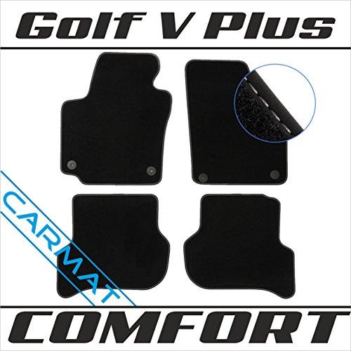 VVVV Golf V Plus Bj. 2005-2014 Fussmatten Autoteppiche COMFORT