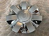 Borghini Bentchi B7 Wheel Center Cap CSB7S-1P New Chrome Rim Middle (1)