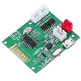 Topiky Placa de Amplificador de Audio, DC 3.7-5V Bluetooth 5.0 Placa de Amplificador de 2 * 5W Placa de Amplificador de Potencia de Entrada de Audio AUX