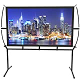 Screen Home Cinema 233X139Cm (100 '') 16: 9 Mobile Projector Screen Easy Installation