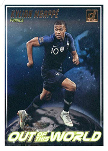 2018-19 Donruss Out of this World Soccer #9 Kylian Mbappe France Official Panini Futbol 2018/2019 Trading Card