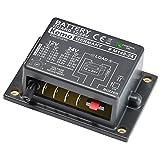 Kemo M148-24 Batteriewächter für 12 oder 24 V/DC. Schützen von Autobatterien vor Tiefentladung. Automatisches Einschalten nach Wiederkehr normaler Spannung. Automatische Batterieerkennung