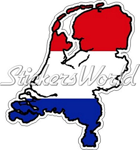 NEDERLAND Dutch Map-Flag Holland 3.7