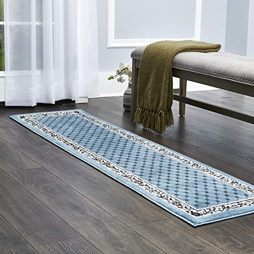 light blue carpet runner - 2