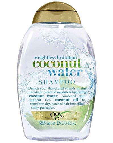 OGX Organix Weightless Hydration Coconut Water Shampoo, macht das Haar wieder wunderbar weich und geschmeidig