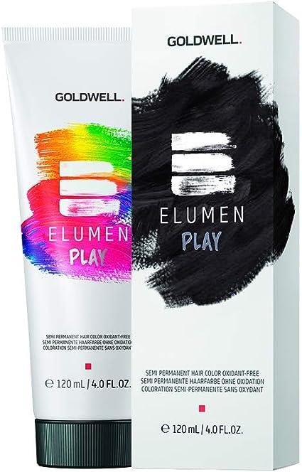 Elumen Play Black 120Ml Black Coloración Semi-Permanente