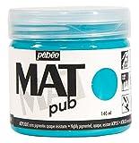 Pébéo 256013 - Pub (acrílico, 140 ml), color azul turquesa