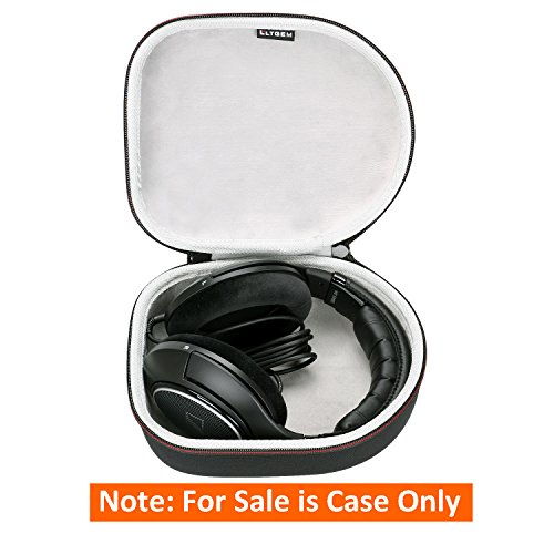 LTGEM Headphone Case Compatible with Sennheiser HD 4.40,HD 598,HD579,HD558,HD202 II,HD201,HD419,HD229,HD202,HD518,HD555 Headphone-Black