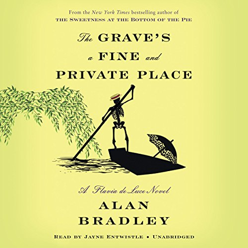 The Grave's a Fine and Private Place audiobook cover art