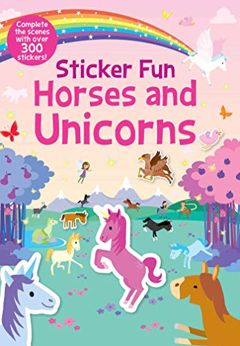 STICKERS-STICKER FUN HORSES &