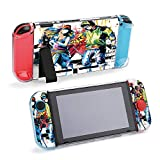 SUPNON Switch Case Compatible with Nintendo Switch Games Protective Hard Carrying Cover Case for Nintendo Switch Console Joy Con Controlle - Hip Hop Dancers Design3132