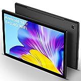 5G Tablet 10 Pulgadas 4GB de RAM 64GB de ROM Android 10 Certificado por Google GMS 1.6Ghz Tablet PC Baratas y Buenas 6000mAh Quad Core Dual Cámara Tableta con WiFi Versión Netflix Bluetooth GPS,Negro
