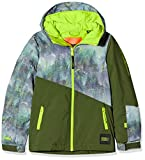 O'NEILL PB Halite - Chaqueta de Nieve para niño, Niños, 9P0080, Green AOP, 128