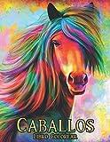 Libro Colorear Caballos: Libro para colorear Caballo Alivio del estrés 50 Diseños de caballos a una cara Libro para colorear Caballos 100 diseños de ... Caballos Libro para colorear para adultos
