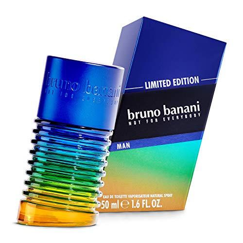 bruno banani Limited Edition orientalisch-holziger Duft für Ihn, EdT, 1er Pack (1 x 50 ml)