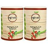 myfruits® Cranberries - gefriergetrocknet - ohne Zusätze, zu 100% aus Cranberries, gesunde Zutat für Müsli oder Porridge (2 x 50g)
