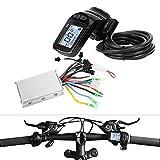 VGEBY 48V 350W Controlador de Bicicleta eléctrica Eletric Scooter Pantalla LCD Acelerador de Pulgar para Scooter de Bicicleta eléctrica