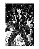 1art1 50014 Elvis Presley - 68 Comeback Special Kunstdruck