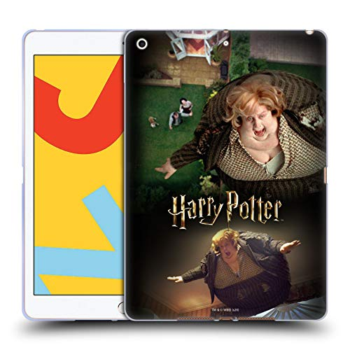 Head Case Designs Officially Licensed Harry Potter Blowing Up Aunt Marge Prisoner of Azkaban VI Soft Gel Case Compatible with Apple iPad 10.2 (2019)/(2020)