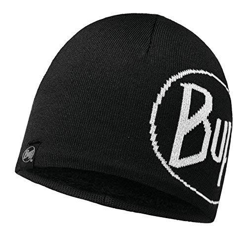 Set - Buff Knitted & Polar Hat Bonnet de Hiver + UP Ultrapower Tissu Tubulaire   Fleece   Tricoté   Sports d'hiver   Bonnet de Ski   Black - 113344.999.10.00