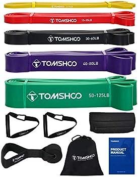 5-Piece Tomshoo Resistance Bands Set