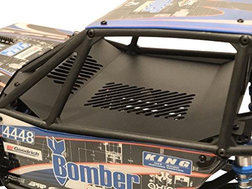Luxury RC Axial Racing RR10 Bomber Aluminum Interior Panel Black AX31328