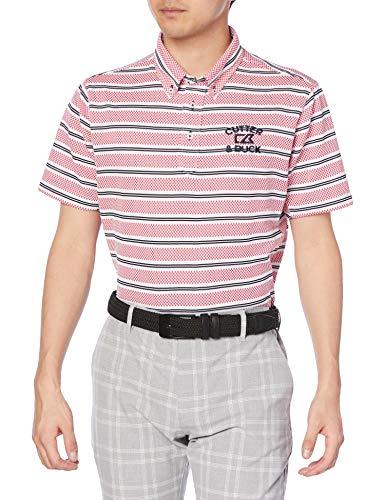 [カッターアンドバック] 半袖シャツ CGMPJA25 メンズ PK00(ピンク) 日本 LL (日本サイズ2L相当)