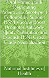 Oral Priming with Replicating Adenovirus Serotype 4 Followed by Subunit H5N1 Vaccine Boost Promotes Antibody Affinity Maturation and Expands H5N1 Cross-Clade Neutralization (English Edition)
