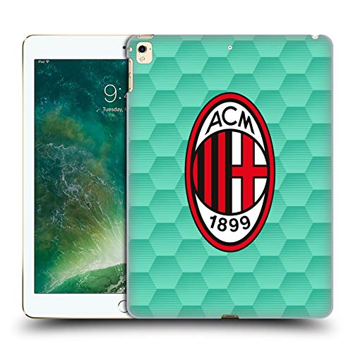 Head Case Designs Officially Licensed AC Milan Home Goalkeeper 2020/21 Crest Kit Hard Back Case Compatible with Apple iPad Pro 12.9 (2017)