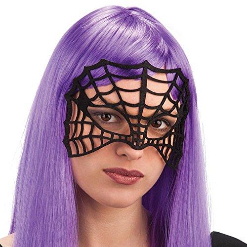 Masque Toile Araignée Halloween Adulte - Accessoire Deguisement - 947