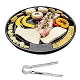 [QUEEN SENSE] CookKing Master Grill Pan, Korean Traditional BBQ Indoor & Outdoor Nonstick